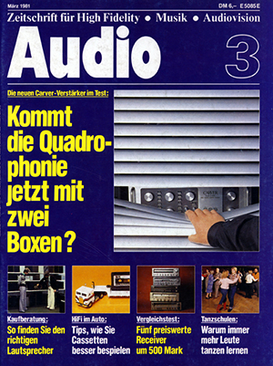 Artikel KS electronic Audio 3 1981