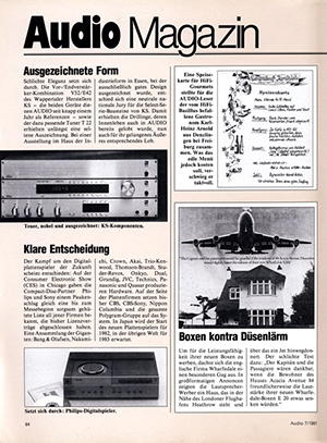 Artikel KS electronic Audio 7 1981