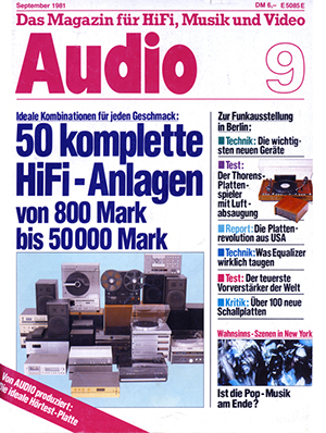 Artikel KS electronic Audio 9 1981
